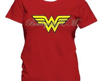 Wonder Woman Inspired T-shirt