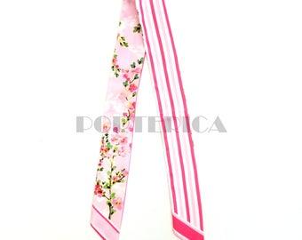 Sakura Pink Twilly Scarf