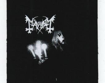 Mayhem Album Patch