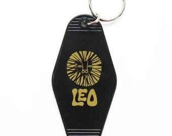 LEO Key Tag - BLACK