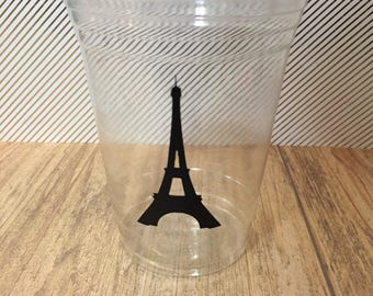 12 Eiffel Tower Cups