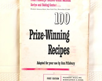 Pillsbury First Grand National recipe book, no cover
