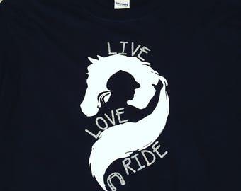 Live Love Ride Equestrian Shirt