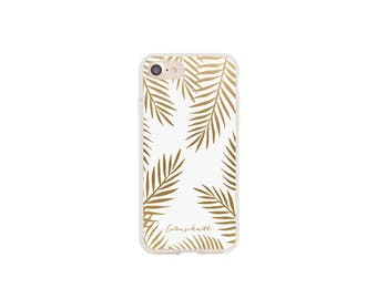 """iphone case """"Golden leaves"""" of owls cut"""