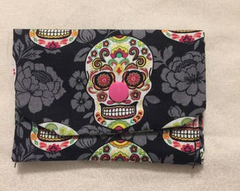 day of the dead loyalty card holder
