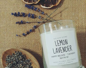 BOTANICAL// Dry Lavender Soy Candle