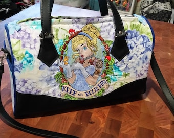 Embroidered Princess Handbag