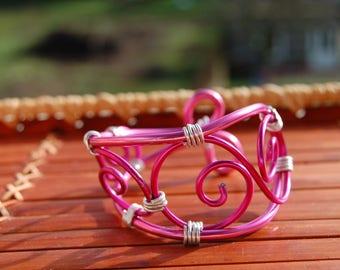 aluminum wire Cuff Bracelet