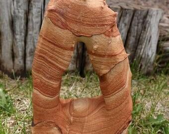 Arizona Sandstone Arch Sculpture | Large Sandstone Carving | Natural Arizona Sandstone | Southwest Decor | Healing Crystal #24