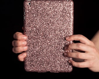 "Glitter iPad Case for New iPad 9.7"", iPad Mini, iPad Air, iPad Pro 9.7"", 10.5"", 12.9"" - Rose Gold"