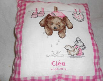 Decoration for baby girl pillow cover