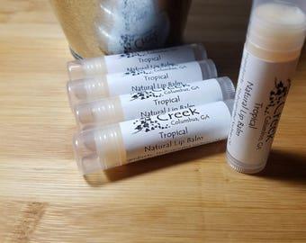 Tropical Natural Lip Balm, Natural, Holistic, Chapstick
