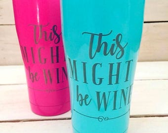 Personalized Tumbler - Powder Coated SIC cup - Coffee - Tea - Bridal Party - Corporate Gift