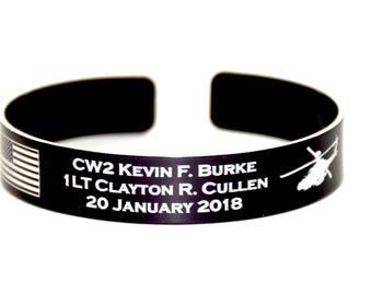 CW2 Burke and 1LT Cullen Memorial Bracelet.
