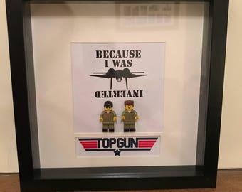 Lego minifigure picture - Top Gun