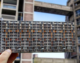 Brutalist Architecture / Sheffield / Model / Park Hill / FREE UK Delivery