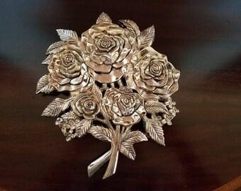 Godinger Silver Rose Bouquet Wall Art