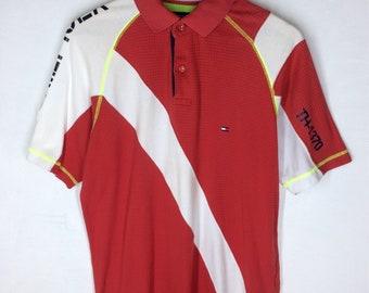 Rare Design Tommy Hilfiger Small Logo Diving Polos T-shirt