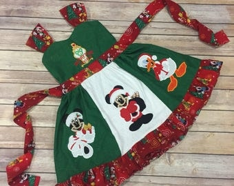 Christmas Mr. Mouse dress