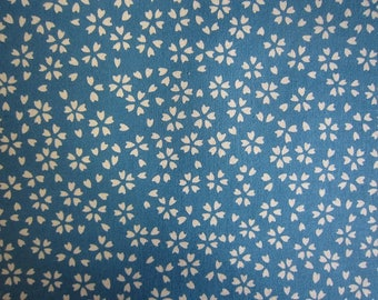 New!! Cotton small sakura cherry blossoms print made in Japan 110x6m