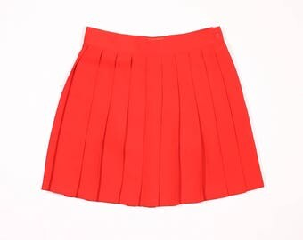 KENZO JUNGLE - Silk pleated skirt