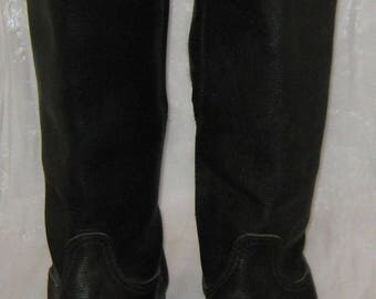 Soviet Russian Army Military officer winter yuft boots size 43 (EU 44)