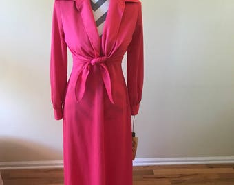 Edith Flagg California two piece dress/1970's vintage