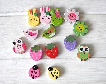 WoodenButton Easter/Spring Pack