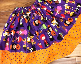 Halloween dress up twirl skirt