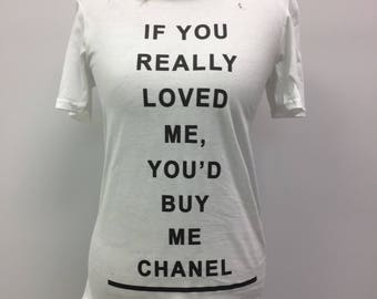 If You Loved Me Distressed Tee