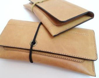 Tobacco pouch leather