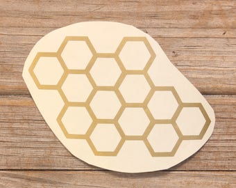 Honeycomb Vinyl Sticker Car stickers, Car Decals, Laptop stickers, Laptop Decal, Vinyl Decal, Ipad stickers, Stickers, Decals