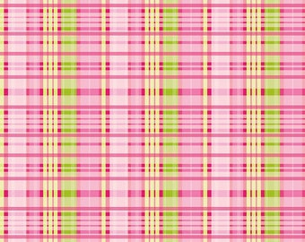 Primavera Fabrics by Riley Blake & Patty Young 3 Color Choices of Plaid Pattern C5743