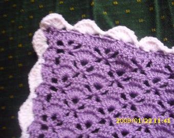 blanket for bassinet or pram 42 X 60 cm