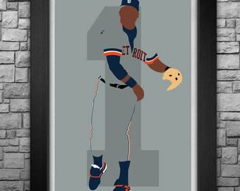 LOU WHITAKER minimalism style limited edition art print. Choose from 3 sizes!