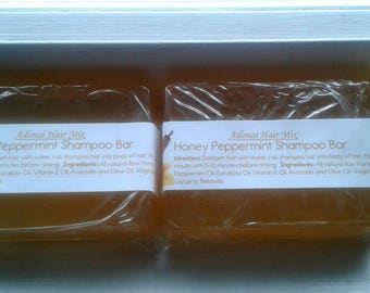 Honey Peppermint Shampoo Bar