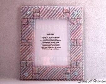 Girlie Chats - Poem Frame