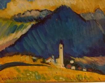 Wassily Kandinsky Landscape
