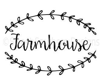 Farmhouse-SVG cut files