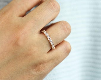 Diamond Eternity Band, Eternity Wedding Band, Eternity Diamond Ring, Diamond Wedding Ring, Diamond Engagement Band, Diamond Engagement Ring