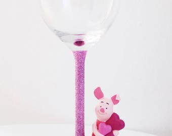 Disney's piglet and Winnie the pooh glasses