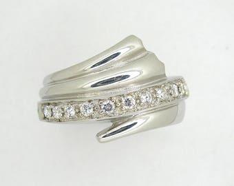 Sterling silver ring,