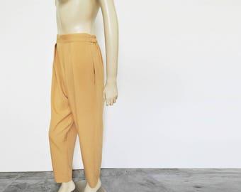 Ladies Pegged Trousers, 90s, UK10, Vintage Pants, Boho Trousers, Loose Pants, Ladies Pants, Vintage Clothing, Clothing, Women's Trousers