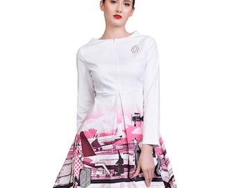 American Glamour Dress Candy Pink