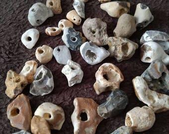 Hag Stone, Odin Stone, Holey Stone - SMALL