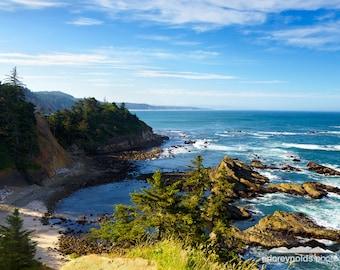 Overlook at Cape Arago - Coos Bay - Cape Arago State Park - Oregon