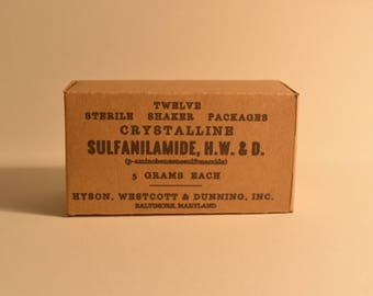 WW2 US Sulfur Box