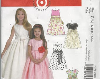 Girls dress patterns | Etsy