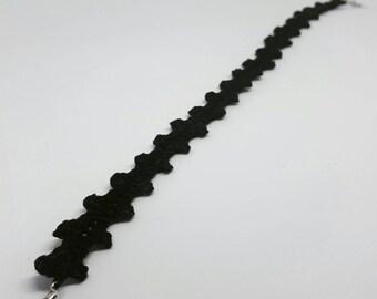Handmade crochet choker