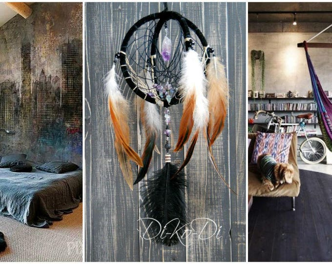 20 Off Coupon On Dream Catcher Black Home Decor Gift For Her Gift